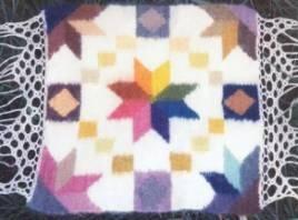 natural dyed yarn sampler