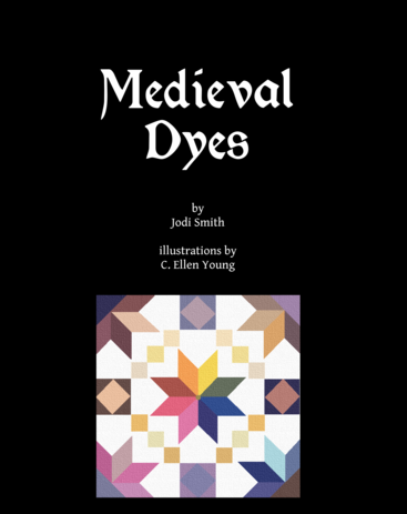 Medieval Dyes book